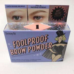 New Foolproof Brow Powder #1